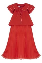 Платье с заклепками Giamba
