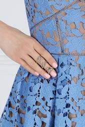 Сет из двойных колец Quills с кристаллами Rachel Zoe