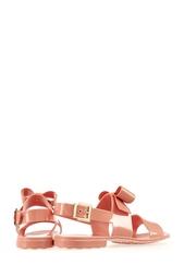 Однотонные сандалии Red Valentino