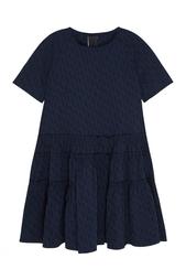 Платье из хлопка и шелка Ivka
