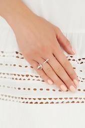 Открытое серебряное кольцо с горным хрусталем Origin Natalia Bryantseva