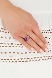 Серебряное кольцо с аметистом «Леденец» Natalia Bryantseva