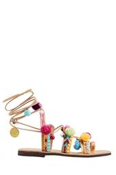 Кожаные сандалии Mabu by Maria BK