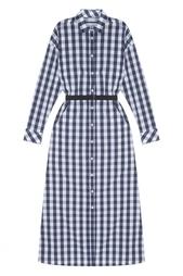 Хлопковое платье-рубашка Flambe