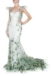 Нейлоновое платье Zac Posen