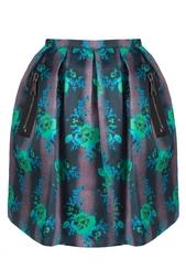 Шелковая юбка Christopher Kane
