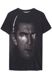 Хлопковая футболка Christopher Kane