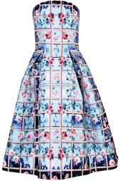 Платье из искусственного шелка Mary Katrantzou