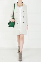 Пальто из хлопковой ткани Isabel Marant
