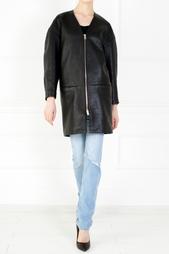 Кожаное пальто Isabel Marant