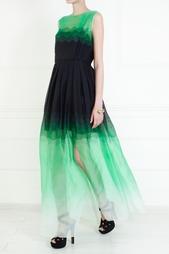 Шелковое платье Jonathan Saunders