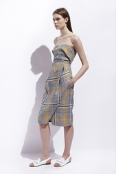 Льняное платье Carven