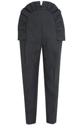 Хлопковые брюки Delpozo