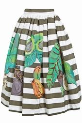 Шелковая юбка Stella Jean