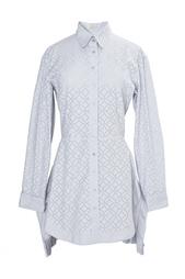 Рубашка из хлопка и полиэстера Azzedine Alaïa
