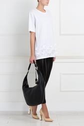 Кожаная сумка Sutra Crescent Diane von Furstenberg