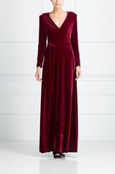 Платье с V-образным вырезом A LA Russe