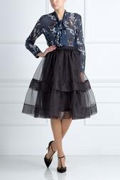 Шелковая юбка Muveil