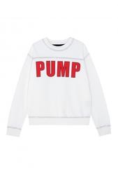 Хлопковый свитшот Pump Filles a Papa