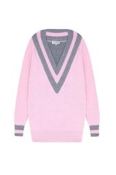 Шерстяной пуловер A LA Russe