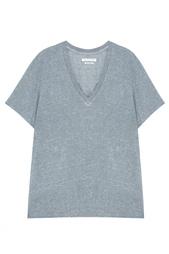 Однотонная футболка Isabel Marant Etoile