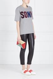 Хлопковая футболка Sonia by Sonia Rykiel