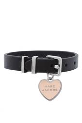 Кожаный браслет Marc Jacobs