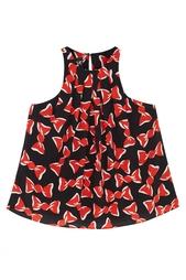 Шелковая блузка Boutique Moschino