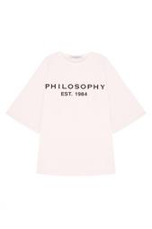 Хлопковый топ Philosophy Di Lorenzo Serafini