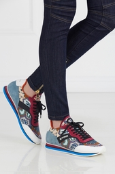 Кроссовки с принтом Etro