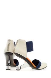 Разноцветные Кожаные туфли Eamz Lente United Nude