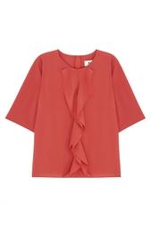 Однотонная блузка Claramilla BZR by Bruuns Bazaar