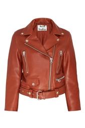 Кожаная куртка Mock Acne Studios