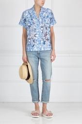Рубашка с принтом Carven