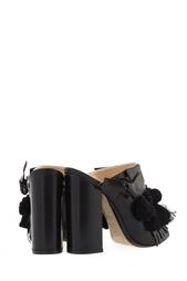 Кожаные туфли-мюли Althea No.21