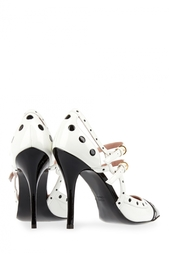 Кожаные туфли Boutique Moschino