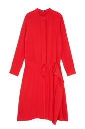 Однотонное платье Jil Sander Navy