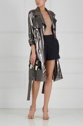 Тренч из металлизированной ткани Daria Bardeeva