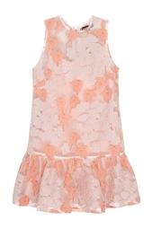 Платье с вышивкой Markus Lupfer