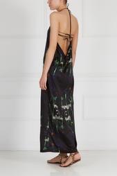 Платье с принтом Les'