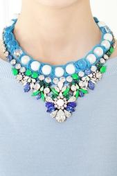 Колье с кристаллами Theresa Shourouk