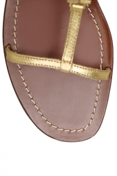 Кожаные сандалии Tory Burch