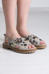 Кожаные сандалии AGL