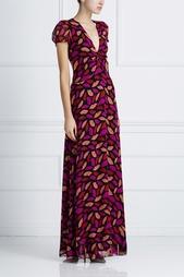 Шелковое платье Adrienne Diane von Furstenberg
