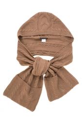 Шерстяной шарф-воротник Katia Mossina