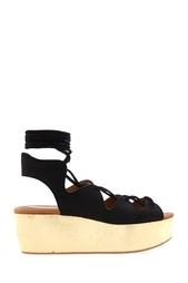 Замшевые сандалии See By Chloe
