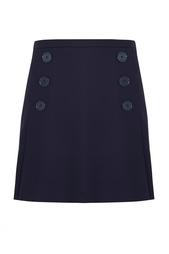 Однотонная юбка Sonia by Sonia Rykiel