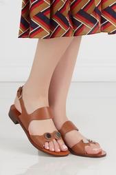 Кожаные сандалии Carven