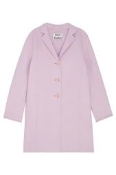 Пальто из шерсти и кашемира Elsa Double Acne Studios