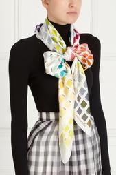 Шелковый платок с принтом Katia Mossina